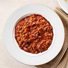 Margie's Chili Recipe - This is the perfect recipe for busy weeknights. I simply spice up canned tomato soup to create a flavorful and oh-so-easy chili. —Margaret Ganzel, Mankato, Minnesota