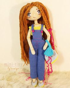 Doll for sale $ 30 shipping According to Russian shipping evelyn_salimon ☆