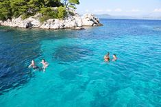 Crystal clear waters of Croatia perfect for snorkeling!