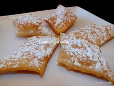 Best Dessert Recipes, Fun Desserts, Mexican Food Recipes, Sweet Recipes, Delicious Desserts, Cake Recipes, Beignets, Funnel Fries, Biscuits