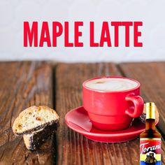 Maple Latte // Made with Torani