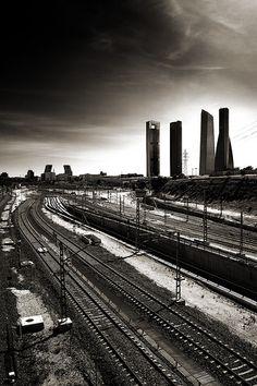 Madrid-Chamartin 2nd take - I was here a few days ago...