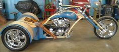 MEADOW CITY CHOPPERS SICK DRAGON TRIKE , ONE OFF BODY - Malibu Motorcycle Works