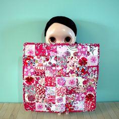 Liberty fabric - Mini swap quilt -fluffyasparagus made by Sheridan (chaletgirl13)