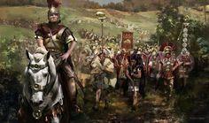Legio X Gemina in Gaul (year 58 B.C.)