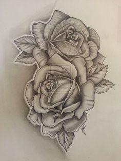 rose tattoo - Pesquisa Google