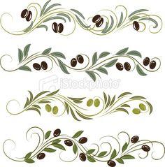 olive border tuscany kitchenkitchen cabinetsrandom thingsolivesvectorskitchen ideas - Kitchen Borders Ideas