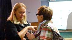 Ladies unter sich: Sigi Jakob und Prof. Dr. Anneliese Wellensiek