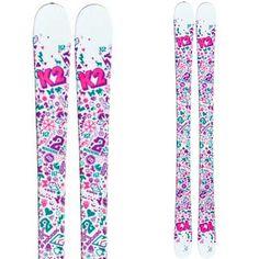 K2 Youth Missy Twin Tip Skis -- BobsSportsChalet.com Online Store $300