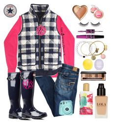 """Help @madelyn-Abigail get to 1k by V-Day! She's 9 away!!!"" by preppy-southern-girl88 ❤ liked on Polyvore featuring American Eagle Outfitters, Elizabeth Arden, J.Crew, Hunter, Initial Reaction, Bobbi Brown Cosmetics, Alex and Ani, River Island, Eos and Rimini"