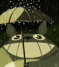 Protectors of Nature - Mononoke Hime, Aaw - Sen to Chihiro no Kamikakushi, Ashitaka and Yakkul - Mononoke Hime, Exciting Noises - Tonari no Totoro. Ghibli illustrations by KleXchen Illustrations, Illustration Art, Cherbourg, Ghibli Movies, Howls Moving Castle, My Neighbor Totoro, Animation, Hayao Miyazaki, Graphic Art