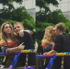 Nomi and Wolfgang #Sense8 in Brazil