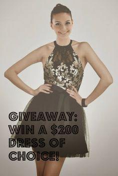 MyStyleSpot: GIVEAWAY: Win a $200 Dress From DressSale