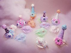 I want these as hair clips!