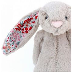 Liberty of London fabric on the ears-co cute!
