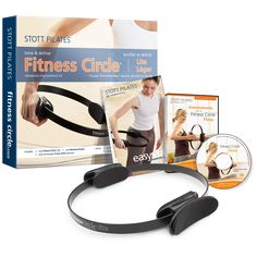 STOTT PILATES Fitness Circle Lite Power Pack >>> Learn more by visiting the image link. (This is an affiliate link and I receive a commission for the sales) Toning Workouts, Pilates Workout, Easy Workouts, Pilates Fitness, Exercises, You Fitness, Mens Fitness, Pilates Ring, Pilates For Beginners