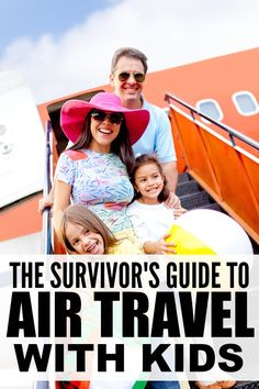 If you plan on traveling with kids in the near future and fear for your sanity, this collection of 10 simple tips to make air travel with kids easier is JUST what you need to make it through to the other side!