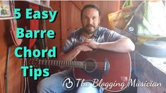 5 Easy Barre Chord Tips Guitar Tips, Guitar Lessons, Marketing And Advertising, Social Media Marketing, Business Profile, Baby Music, Relaxing Music, Original Song, Barre