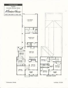 Lorena Colonial Revival Siding Floor Plans in Celebration FL