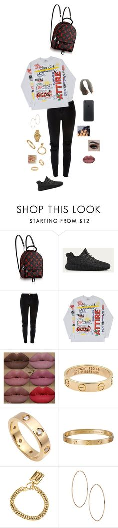 """""""""""I be feeling like Sun-Shine...""""🎶 ~Quincy"""" by destinee1019 ❤ liked on Polyvore featuring adidas, River Island, Kylie Cosmetics, Cartier, xO Design, Chanel and Rolex"""