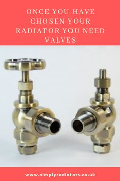 Once you gave xhosen your radiator you then need to think about the valves. Manual or thermostatic, brass, chrome, nickel or another finish. Call for more details and help. #radiatorvalves #valves Bathroom Radiators, Column Radiators, Radiator Valves, Cast Iron Radiators, Steel Columns, Designer Radiator, Towel Warmer, Traditional Bathroom, Polished Nickel