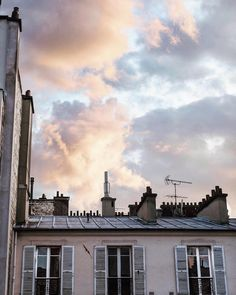 """638 Likes, 34 Comments - Emilie Sweetcabane (@sweetcabane) on Instagram: """"Pink sky always makes me happy☺️... Enjoy this evening, everyone! . Les ciels tout roses ☺️...…"""""""