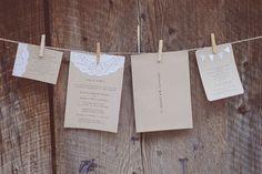 typewriter wedding invitation - Google Search
