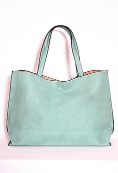 Perfect soft, big, slouchy bag in THE spring color  #PGPackingList  #PrivateGallery