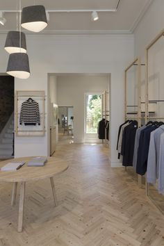 Sunspel Store by Humphrey + Edwards, Melbourne – Australia » Retail Design Blog