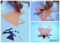 Image result for triangle crafts for toddlers