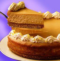 Recipe for Butterscotch Cheesecake