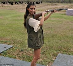 Poetic Celebrity Parody - Kim Kardashian Goes Shooting, Edition!