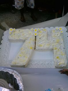 My aunt's 74th birthday cake