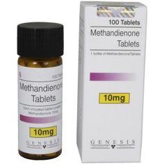 Genesis Methandienone Tablets  10mg/tab [100 tabs]