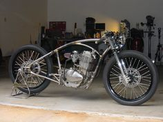 Creating a Kustom GN400 Motorcycle