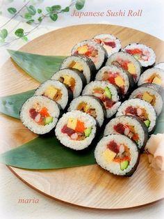 節分*恵方巻き&太巻き寿司 レシピブログ