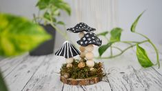 Fimo, Modelling Clay, Craft Tutorials, Mushrooms, Make Your Own