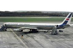Loftleidir - Icelandic Airlines Douglas DC-8-63CF 1973