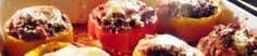 Sunday At the Giacometti's: Summer Stuffed Peppers ( Peperoni Ripieni)