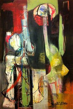 "Saatchi Art Artist Bruno Varatojo; Painting, ""Forms of being (6)"" #art"