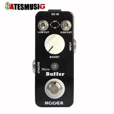 59.25$  Watch here - http://ali5al.worldwells.pw/go.php?t=32434074023 - NEW Effect Guitar Pedal /MOOER Micro Buffer pedal,True bypass thus obtaining the original musical sound 59.25$