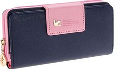 Hochwertiges Material Große Kapazität Multifuntion Klassisches Design Zip Around Wallet, Material, Design, Fashion, Fashion Styles, Accessories, Woman, Moda