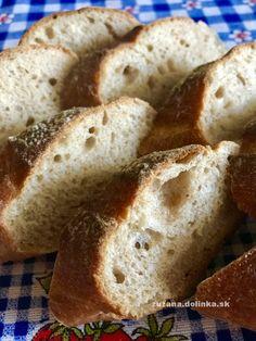 Kváskové bagety – moje malé veľké radosti Basket, Brot