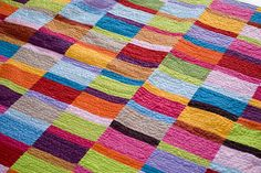 quilt - gorgeous color and texture