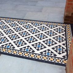 London Mosaic - Decorative Reproduction Victorian Path