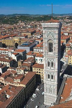 Giotto's Campanile - Florence, Italy