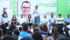 Inicia Abarca el camino a la Diputación Federal