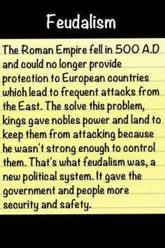 centuries and classical feudalism Hist 100: part 4 the middle ages dr  a period in which the accomplishments of classical civilization were  and it took centuries really for various germanic.