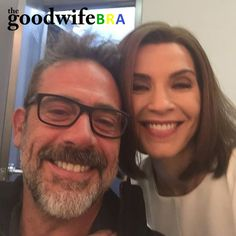 Fotos dos bastidores das gravações da sétima temporada de The Good Wife