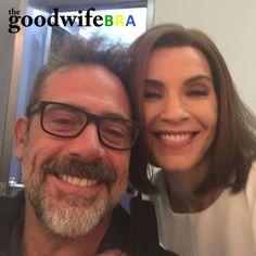 Fotos dos bastidores das gravações da sétima temporada de The Good Wife